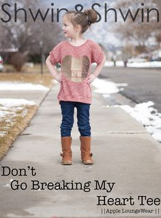 Shwin&Shwin: Don't Go Breaking My Heart Tee || Tutorial