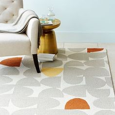 West Elm: Cutouts Wool Rug - I wish I could afford an 8'x10' rug for $600! - This rug is super neat.