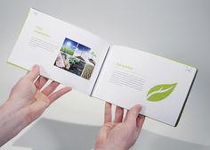 Gaia Brand Manual Book on Behance