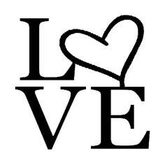 """'Tilted Love"""" SVG File"""