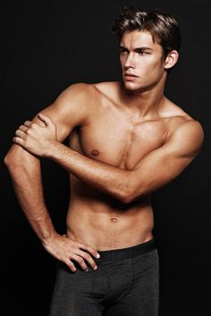 This is how I imagine Christian Grey (Fifty Shades of grey) would look... He even has grey eyes...