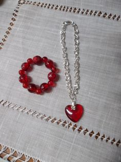 American Girl Doll Jewelry Set Necklace by CreationsByJanetUSA, $7.00