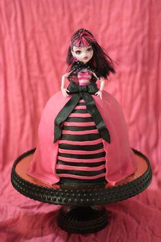Monster High Draculaura Cake — Birthday Cake Photos