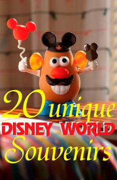 20 unique Disney World souvenir ideas souvenirs - Love these.  We'll need to take time to visit Downtown Disney.