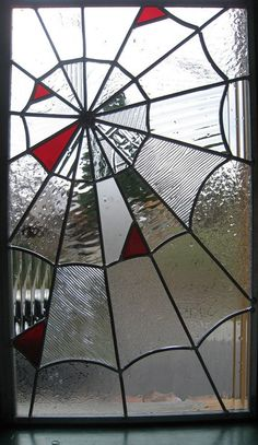 stained glass spiderweb be great to make for halloween more halloween ...