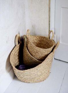organic storage/recycling basket