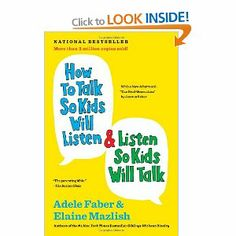 This book will make your life so much easier when dealing with your kids, I highly recommend it! It teaches how  to make little changes in what you say and how to handle situations with your kids. This has an amazing impact on how your kids react. It's the difference between a tantrum and screaming fit or a peaceful end to the problem and quiet exit from a store.