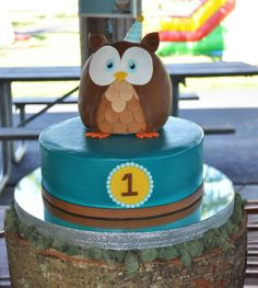 owl first birthday cake | 107 - Owl's 1st Birthday - Home Page