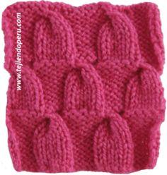 dos aguja, ocho media, trenza calada, mon tricot, knit, animai, crochet casa, media trenza, medium