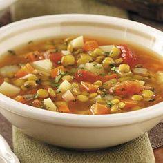 Taste of Home - Lentil Soup for the Soul