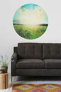 Field of Dreams Wall Decal! ʜöʍɛ ðɛʗöʀɑʈöη, dorm room, wall decals, dream wall, field of dreams