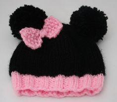 Preemie baby wear hand knit cute baby hat by sweetygreetings, £3.90