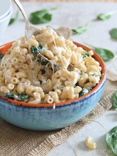 (HEALTHY!!) Greek Yogurt Mac n Cheese