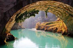 Bridge at Soca River, Slovenia