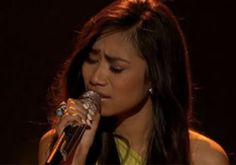 Jessica Sanchez Sings With Her Heart