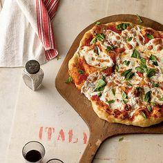 Pizza Margherita   CookingLight.com