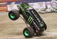Monster Energy truck..