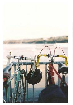 Go on a bike ride somewhere new.