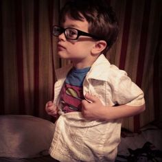 I want my child to be a nerd like this, (: