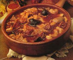 Los callos a la madrilena: uno de los platos más típicos del invierno madrileño.1 Se elabora principalmente con tripas de vaca