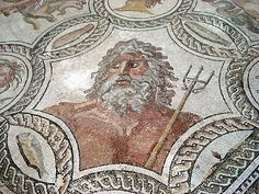 Mosaic of Neptune | Museo Archeologico Nazionale, Palermo