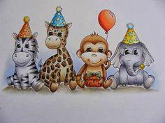 The latest creation from Christine Paperdolls its a wild celebration #ThePaperNestsDolls