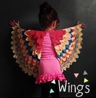 DIY bird wings (tutorial)