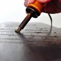 Don't let this simple tool intimidate you! Learn the basics of wood burning in this article! @Apryl Stafford Square @Amy Lyons Renea