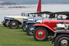 The Ruxtons Shine on the Lawn at Pebble Beach