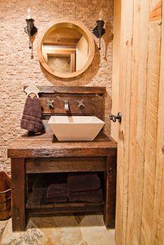 Rustic Bath Sink