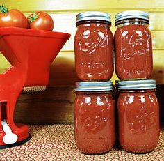 This tomato sauce is perfect in every way. I love that the tomato flavor of the sauce shines through bright and clear.