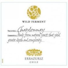 Light greenish-yellow color. The complex, multi-layered nose combines mineral notes with expressive tropical fruits. Hints of minerality are balanced by bright acidity and a lush and creamy texture. Elegant and approachable, the wine has a long, persistent finish. https://www.drync.com/bottles/2011-errazuriz-chardonnay-wild-ferment
