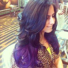 Purple #ombre...