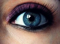 Pretty Eye Makeup | blue, eye, make up, pretty - inspiring picture