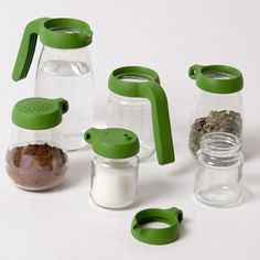 Transform your empty jars into functional containers again with these Jar Tops!
