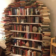 A very cool set of bookshelves