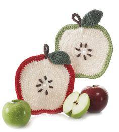 Apple Dishcloth