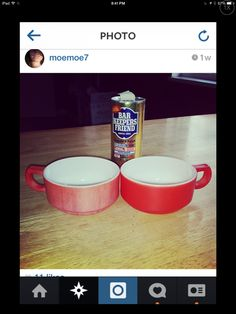 Before and after! Bar Keepers Friend and pyrex