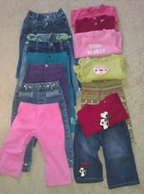 Girls 12 to 18 month Gymboree jeans, shirts, outfits     Price: $60.00