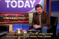 Ron Swanson on Pawnee Today | #ParksandRec