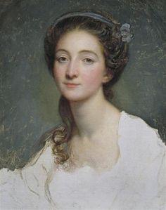 """""""Sophie Arnould"""" by Jean-Baptiste Greuze (1725-1805)"""