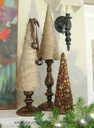 burlap christmas decorations - Google Search