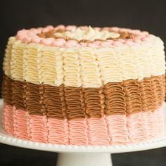 Neapolitan Cake Recipe | Brown Eyed Baker