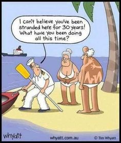 Stranded for 30 long years. LOL