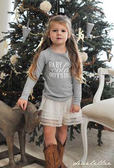 """For """"K"""" - Dear Lillie: Our Christmas Shirt"""