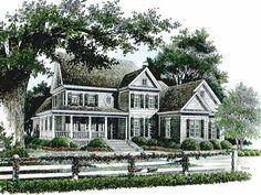 Floor Plans & Elevations on Pinterest | Farmhouse House Plans, Farmho ...