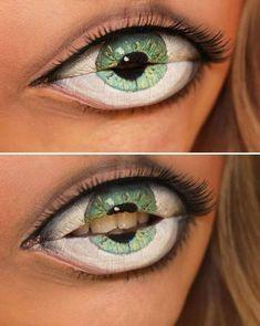 WHOAH Halloween makeup