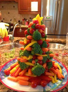 christma potluck, christmas appetizers, christma appet, christma parti, broccoli christma