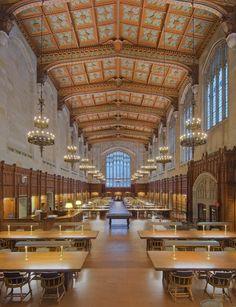 University of Michigan Law Library in Ann Arbor, Michigan