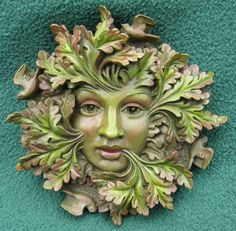 the greenwe'moon symbol is amazing! she represents rebirth and the cycle of growth.